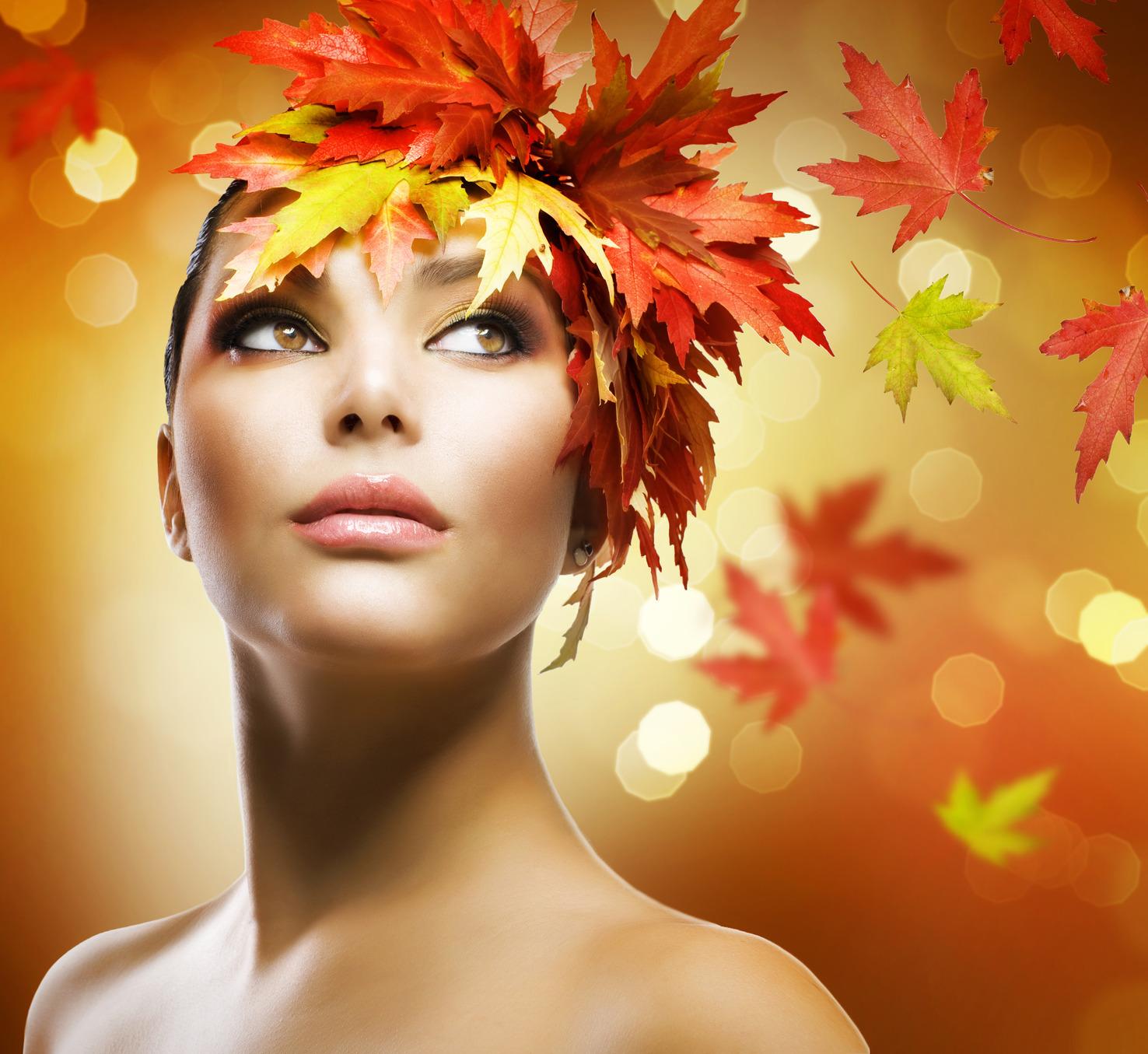Autumn beauty makeup tip